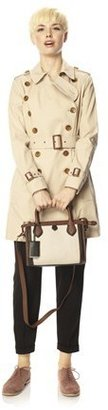 French Connection Smart Catch Belted Trench Coat