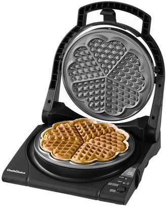Chef's Choice M840 Waffle Maker, WafflePro Five-of-Hearts