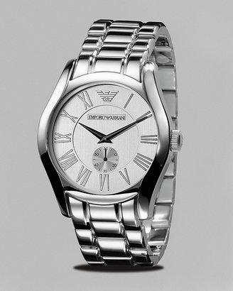 Emporio Armani Men's Classic Vintage Stainless Watch, 43mm