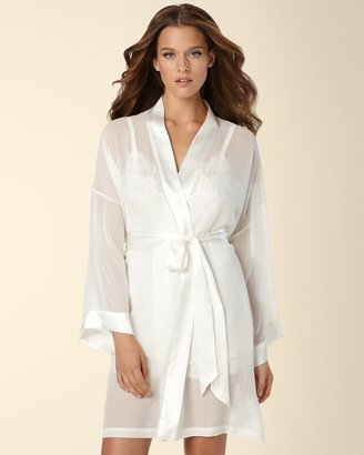 Soma Intimates Morgan Silk Kimono Robe