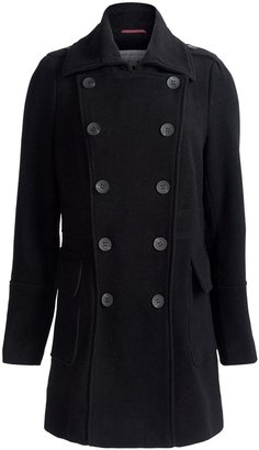 Marc New York Precise Plush Pea Coat - Wool Blend, Double-Breasted (For Women)