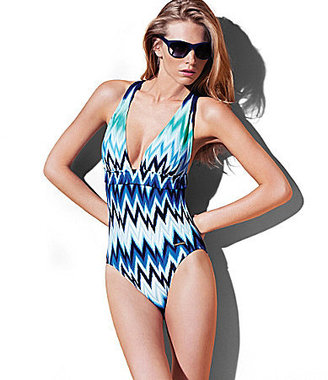 Vince Camuto Swim The Beverly Zigzag One-Piece Swimsuit