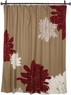 Blissliving Home Ashley Grey Shower Curtain