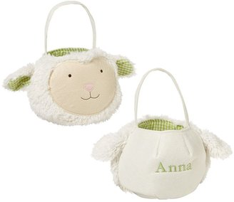 Pottery Barn Kids Sherpa Lamb Puffy Easter Bag