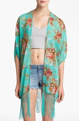 WAYF Floral Kimono