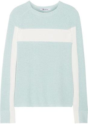 Alexander Wang Ribbed cotton-blend sweater