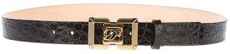 DSquared DSQUARED2 logo plaque belt