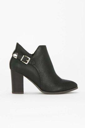 WallisWallis Black Buckle Ankle Boot