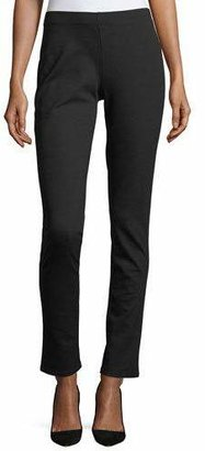 Eileen Fisher Slim Ponte Pants $208 thestylecure.com
