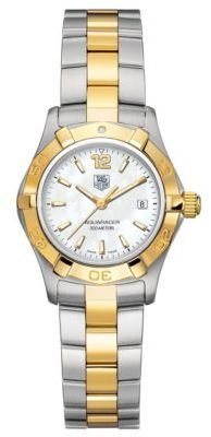 Tag Heuer Ladies' Aquaracer Two-Tone Watch
