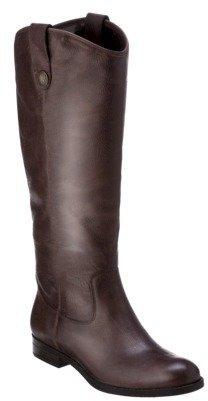 Merona Women's Kasia Leather Riding Boot - Brown
