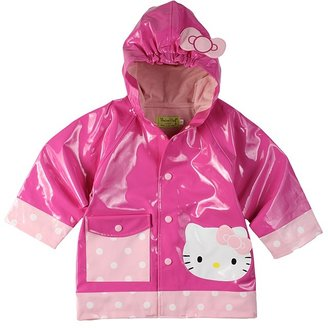 Western Chief Hello Kitty Polka Dotted Cutie Raincoat (Toddler/Little Kids) (One Color) - Apparel