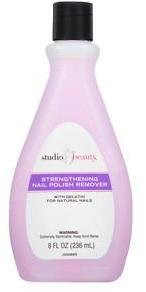 Studio 35 Beauty Salon Formula Strengthening Nail Polish Remover