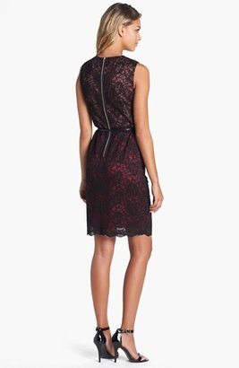 Maggy London Lace Sheath Dress