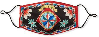Dolce & Gabbana Reusable Heritage Print Cloth Mask Face Covering