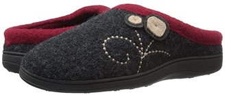 Acorn Dara (Charcoal Button) Women's Shoes