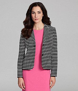 Chaus Striped Blazer