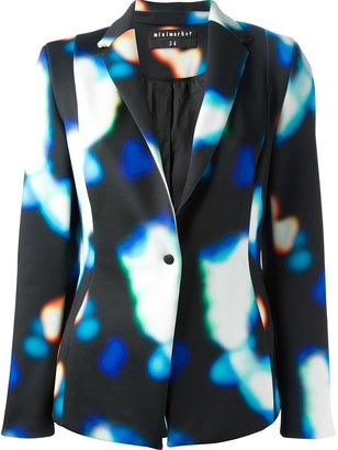 Mini Market Minimarket printed blazer