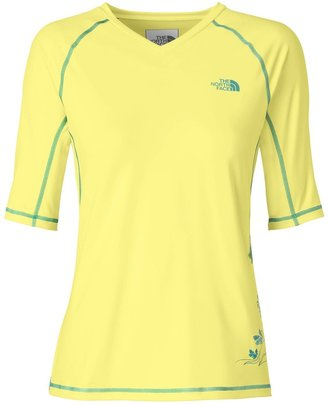 The North Face Echo Lake Shirt - UPF 50, High-V-Neck, Jersey Knit, Short Sleeve (For Women)