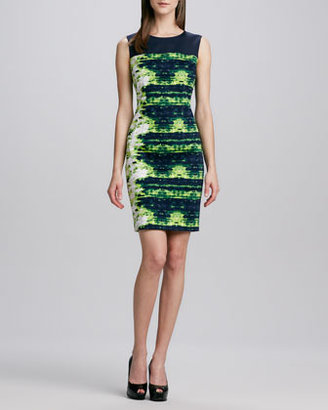 Elie Tahari Hampton Splash Emory Dress