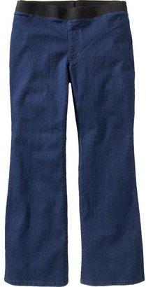 Old Navy Women's Plus Elastic-Waist Flare Jeans