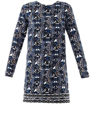 Kenzo Temple eyes-print dress