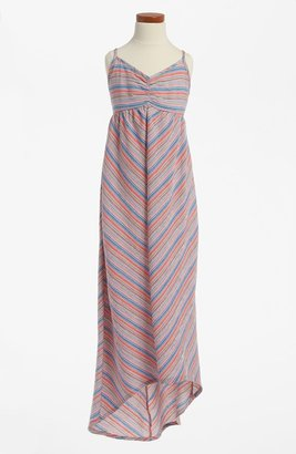 Roxy Woven High/Low Maxi Dress (Big Girls)