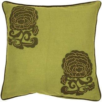 Artisan weaver calhoun floral decorative pillow