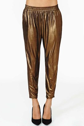 Nasty Gal Lucca Couture Dark Dawn Track Pant