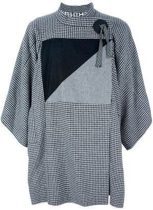 Bernhard Willhelm loose fit print coat