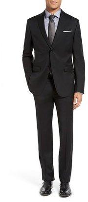 Men's Z Zegna 'Drop 7' Trim Fit Wool Suit $1,395 thestylecure.com