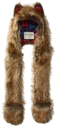 Spirit Hoods SpiritHoods - Coyote HB3 Washable Headphones (Adults) (Brown) - Hats