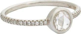 Irene Neuwirth Diamond Collection Bezel-Set Diamond & White Gold Ring