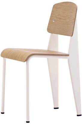 Vitra Standard Chair Natural Oak Red