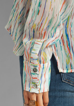 Funktional Watercolor Fold Front Top