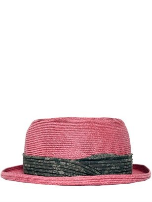 Marc Jacobs Paper Straw Hat