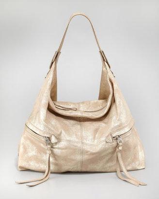 Kooba Crosby Metallic Hobo Bag, Gold