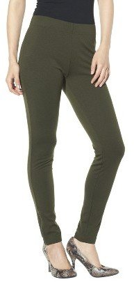 Mossimo Womens Ponte Ankle Pant - Green
