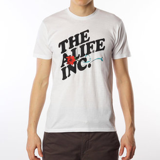 Alife The Inc Tee White