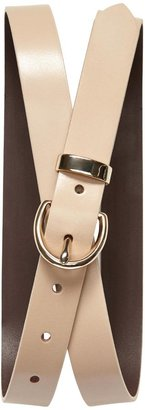 Banana Republic Italian Leather Single Keeper Belt