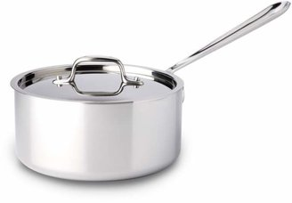 All-Clad Stainless Steel 3-Quart Saucepan with Lid