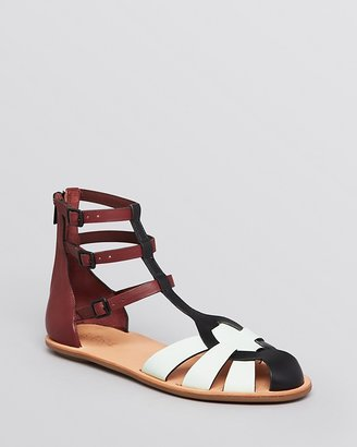 Loeffler Randall Flat Gladiator Sandals - Steph