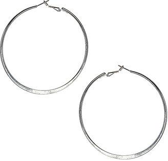 Wallis Silver Hoop Earrings