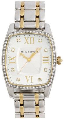 Juicy Couture 'Beau' Square Bracelet Watch, 44mm x 32mm