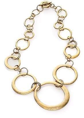 """Lauren Ralph Lauren Lauren By Ralph Lauren Interlocking Ring Necklace, 18"""""""