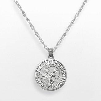 B.C.S. Logoart alabama crimson tide 2012 national champions sterling silver pendant