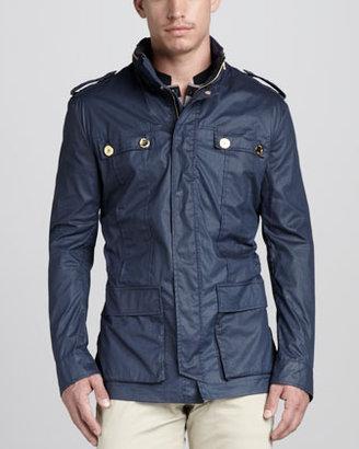 Versace Four-Pocket Field Jacket