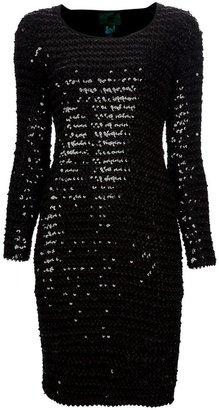 Jean Paul Gaultier Vintage sequinned bodycon dress