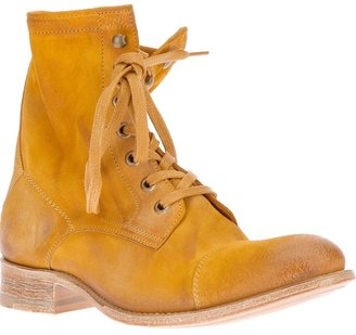 N.D.C. Made By Hand lace-up ankle boot