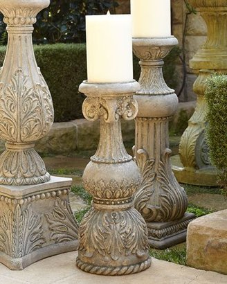 """GG Collection G G Collection 24"""" FLOOR CANDLESTICK CSTSTN"""